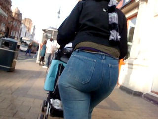 large booty thick denims