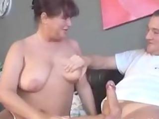 german elderly with tatoo licks and fucks mature