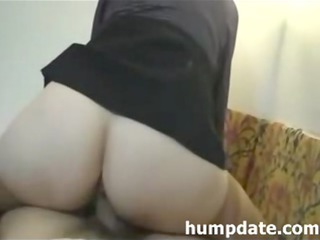 desperate maiden with large butt licks and drives