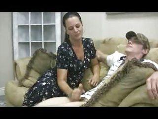 staceys woman - veronica cfnm handjob