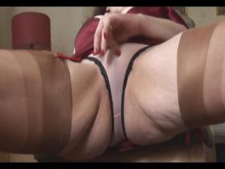 large tits grownup milf exposes off sheer