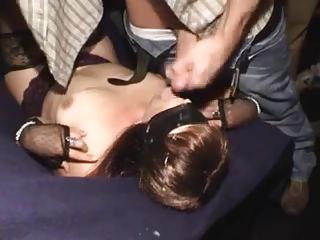 young woman bukkake