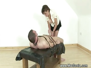 domina ruling over a dick