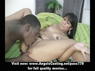 amateur adorable sexy brunette angel doing