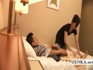 subtitled japan masturbation inside front of lady