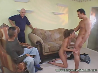 sexy and thin housewife gorge pierced and screwed