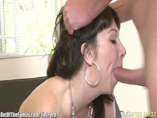 daughter catches milf getting butt pierced