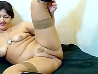russian hairy webcam mom cougar mature fuck