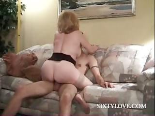 super lady obtains young penis on the floor