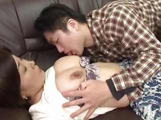 naughty japanese mother acquires abuse by her male