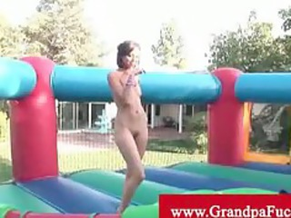 marry lina pussy eaten by a grandpa