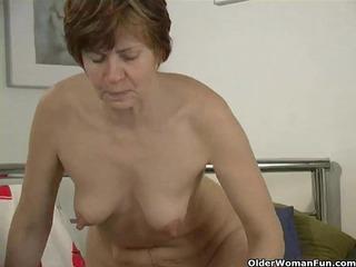 old ann has biggest nipps
