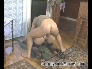 grandmas daughter licking dick