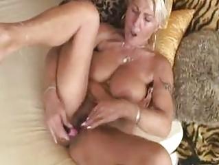 cougar american blond
