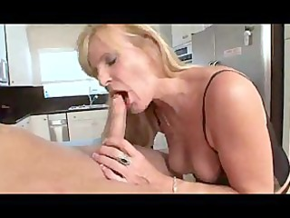 kate - super blond elderly in underwear