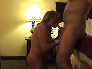 super older  blond punished- licks and spanked