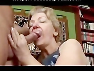 toothless plump gummy old fellatio and gang bang
