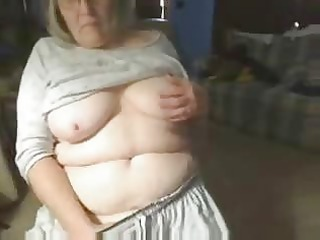 rooty grandma having pleasure on web cam
