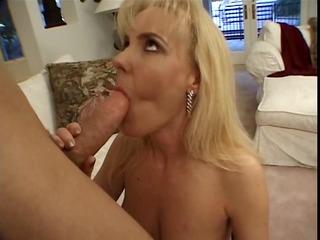 fresher boy cumhole copulates mature woman