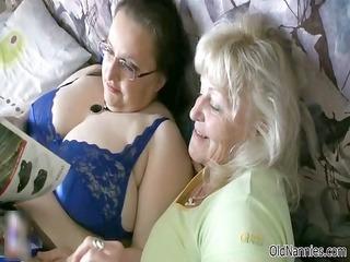 horny old likes having lesbian porn part6