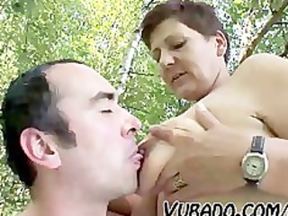 cougar pair outside sex