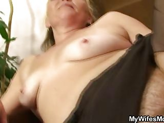 naughty old opens shaggy vagina for extremely