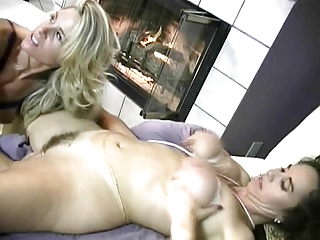 classic mature babes triple