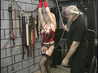 wide huge ass bdsm lesbian is tortured by her