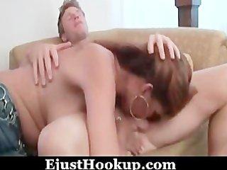 hot ginger mature seduces her daughters boyfriend