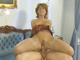 naughty blonde grownup likes a difficult cock she