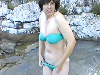 lovely lady initial occasion on nudist camp