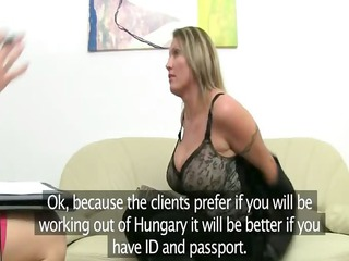 older  babe penetrate on leather armchair