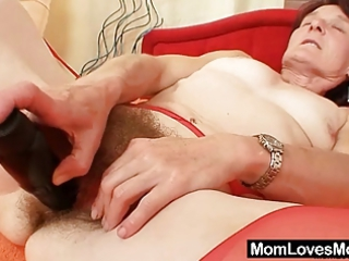 ugly old matylda spreads and vibrators furry kitty