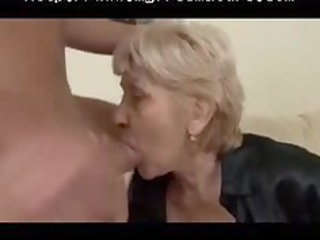 beefy mature in pantyhose copulates older mature