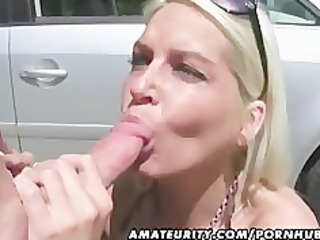 2 awesome amateur chicks inside an outside group