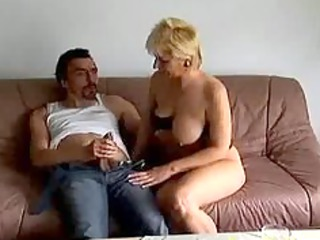wild granny milf obtains pierced hard and cum on