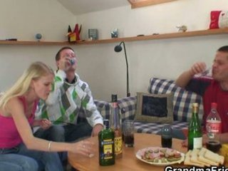 partying boys score horny pale elderly and nail