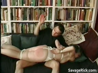 kinky woman is sex slave in weird bondage part5