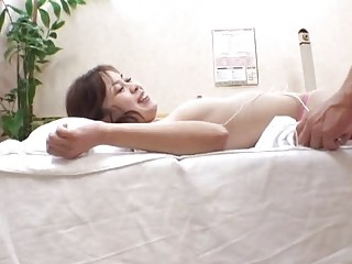 spycam inexperienced woman cheating with massager