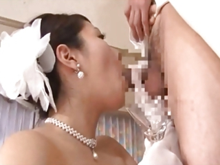 mature brides drinking cumshots