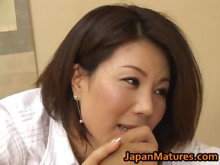 naughty japanese cougar angels licking part1