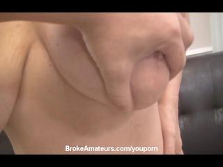 fresh large boob milf