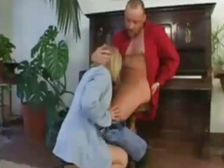 cougar private instructor woman deepthroat choking