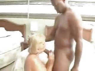 elderly grany gangbanging with 2 dark men