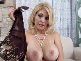 mommy with big pure bossom licks dick point of