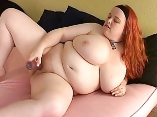 bust rufous lady fatty toys her fat cutn
