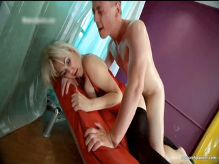 dirty pale hoe gets spanked part5
