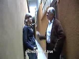 grandpa and lady inexperienced