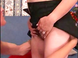 cougar italian redhead trades head and takes
