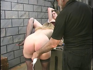 cute bulky lesbian bdsm babes with furry bushes